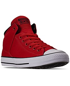 Men's Chuck Taylor Street Mid Casual Sneakers from Finish Line