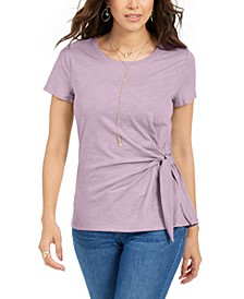 Side-Tie Top, Created for Macy's