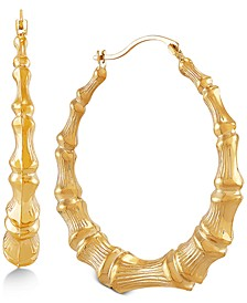Medium Hoop Earrings in 10k Gold