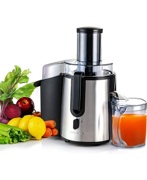 OVENTE Wide Mouth Juicer High Speed Juice Extractor, 9.45 Pounds