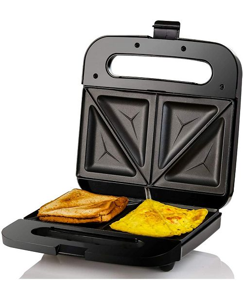 OVENTE Sandwich Maker Non Stick Electric Grill