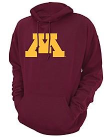 Men's Minnesota Golden Gophers Screenprint Big Logo Hooded Sweatshirt