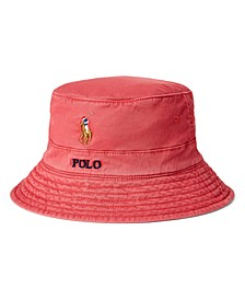 Men's Stretch-Cotton Twill Bucket Hat