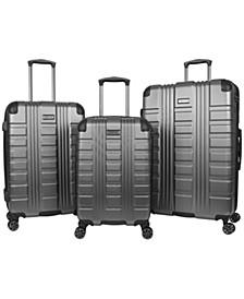 42nd Street 3-Pc. Hardside Luggage Set