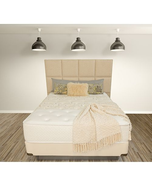 "Paramount Nature's Spa by Serenity 14"" Cushion Firm Mattress Set- Full"