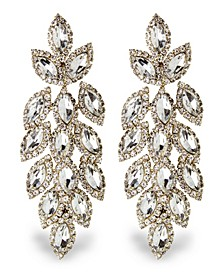 Accessories Cascading Stone Statement Earrings