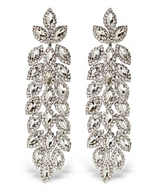 Stone Cascade Statement Earrings