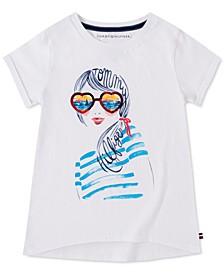 Big Girls Sunset Dream Cotton T-Shirt