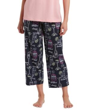 Hue Drink Them Up Capri Pajama Pant