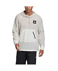 Men's Must Haves Pullover Woven Hoodie