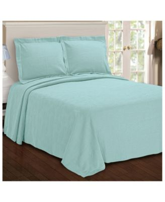 Paisley Jacquard Matelasse 3 Piece Bedspread Set, King