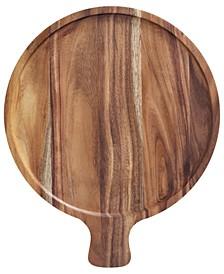 "Artesano Acacia Wood Antipasti 11"" Plate"