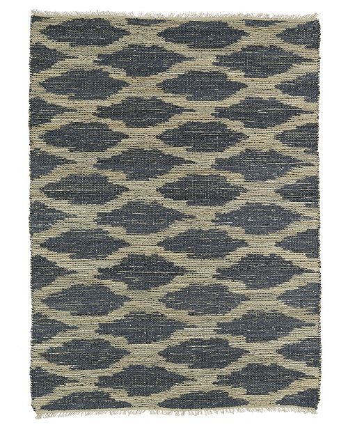 "Kaleen Textura Txt01-75 Gray 3'6"" x 5'6"" Area Rug"