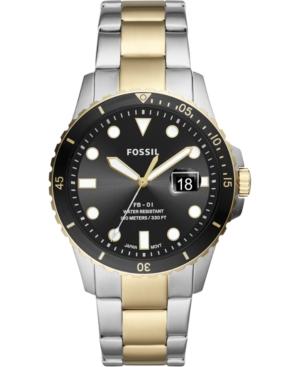Men's Fb-01 Two-Tone Stainless Steel Bracelet Watch 42mm