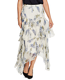 Vince Camuto Asymmetrical Tiered Skirt