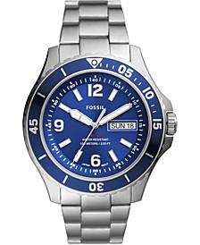 Men's FB-02 Stainless Steel Bracelet Watch 48mm