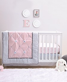 Princess 4-Piece Crib Bedding Set