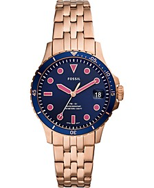 Women's FB-01 Rose Gold-Tone Stainless Steel Bracelet Watch 36mm