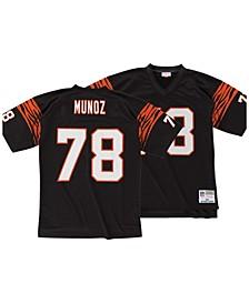 Men's Anthony Munoz Cincinnati Bengals Replica Throwback Jersey