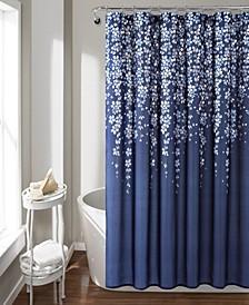 "Weeping Flower 72""x 72"" Shower Curtain"