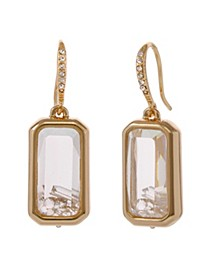 Laundry bu Shelli Segal Square Drop Earrings