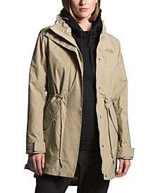Women's Metroview Hooded Trench Coat