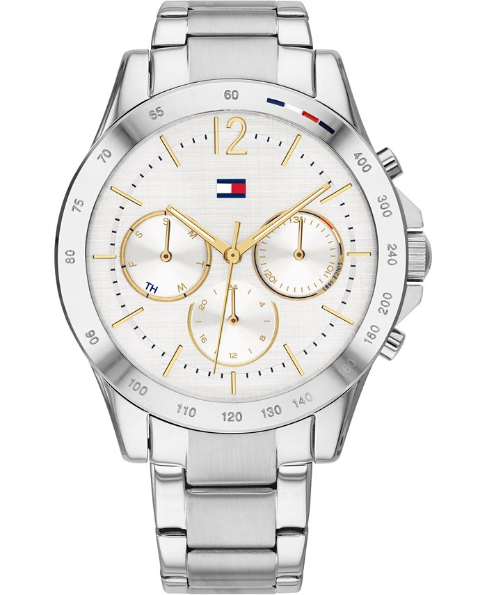 Tommy Hilfiger - Women's Chronograph Stainless Steel Bracelet Watch 38mm