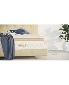 "HD 15"" Luxury Firm Euro Pillow Top Mattress Set- King"