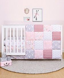 PS by Meadow 3-Piece Crib Bedding Set