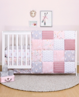 Ps by The Peanutshell Meadow 3-Piece Crib Bedding Set Bedding