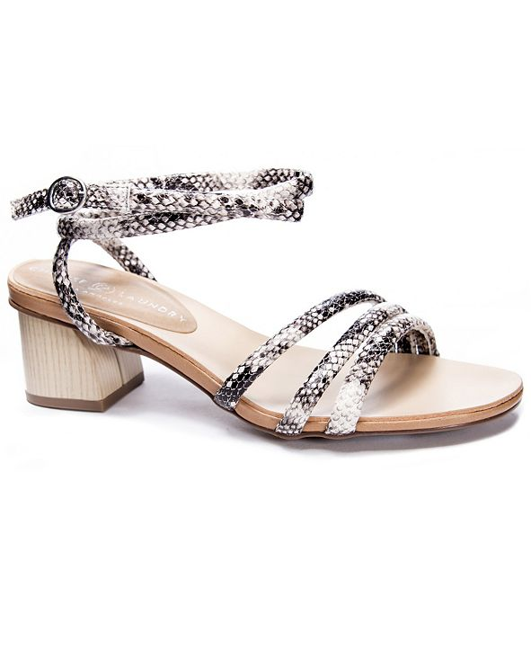 Chinese Laundry Montezuma Block Heel Dress Sandals