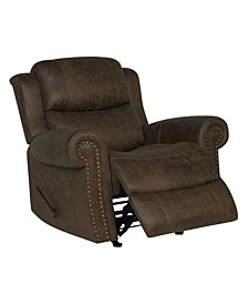 Extra Large Rocker Rolled Arm Recliner Chair