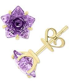 EFFY® Amethyst Star Stud Earrings (2 5/8 ct. t.w.) in 14k Gold