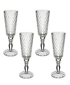 Boston Flare Flute Champagne Set of 4