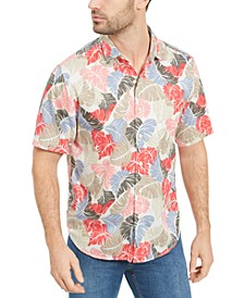 Men's Camo Fronds Graphic Shirt