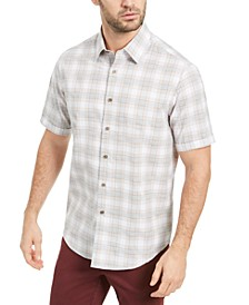 Men's Alcala Boulca Plaid Shirt, Created for Macy's