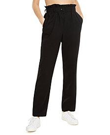 Danielle Bernstein Paperbag Waist Pants, Created for Macy's