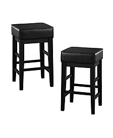 "Hunter 24"" Counter Stool (Set of 2)"