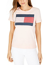 Gingham Flag T-Shirt