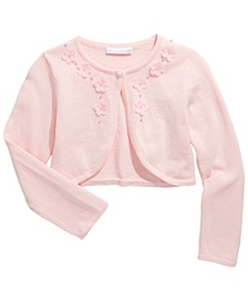 Big Girls Cotton Flyaway Cardigan