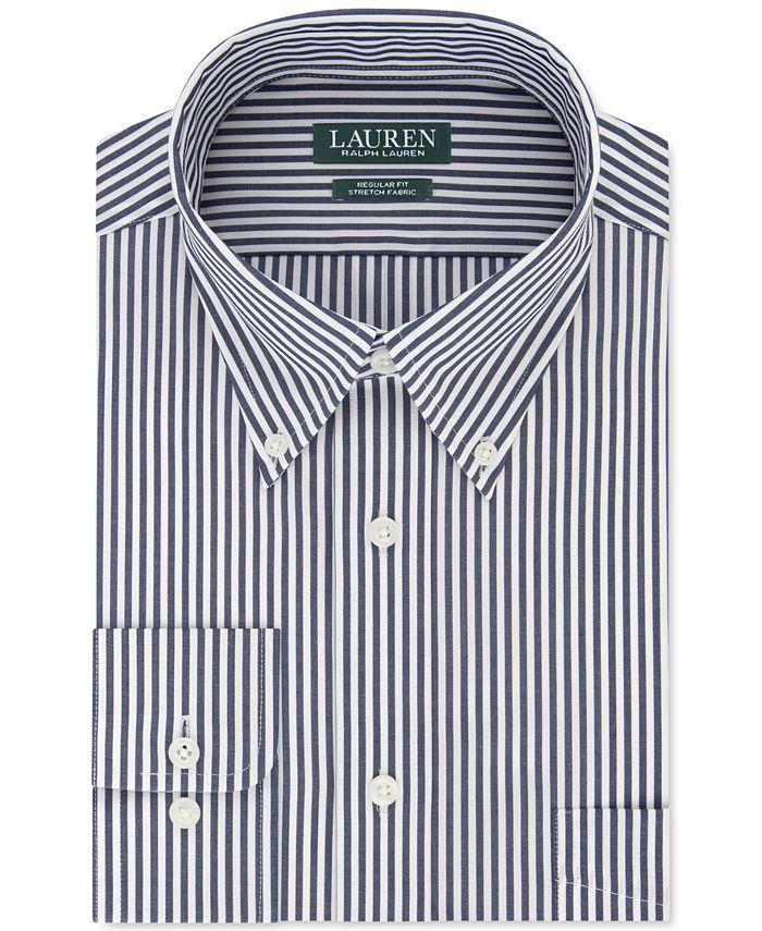 Lauren Ralph Lauren - Men's Classic-Fit Heritage Stripe Dress Shirt