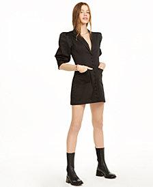 Danielle Bernstein Tuxedo Mini Dress, Created for Macy's