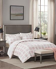 Mae Plush 3-Piece King Comforter Set