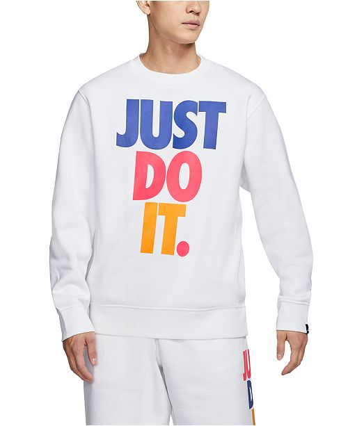 Nike Men's Just Do It Whiteout Collection