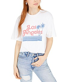 Cotton Los Angeles Cropped T-Shirt