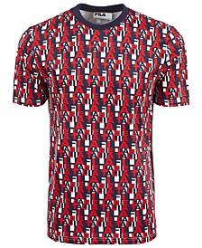 Men's Denji Logo Letter Print T-Shirt