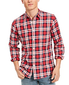 Men's Garcia Plaid Shirt, Created for Macy's
