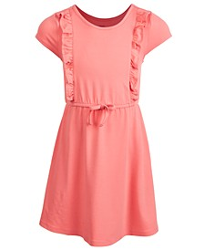 Toddler Girls Ruffle Tie Dress, Created for Macy's