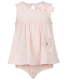 Baby Girls Giraffe Bodysuit, Created for Macy's