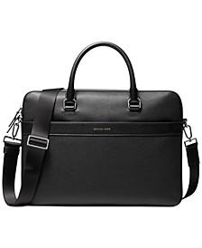 Men's Mason Explorer Leather Briefcase